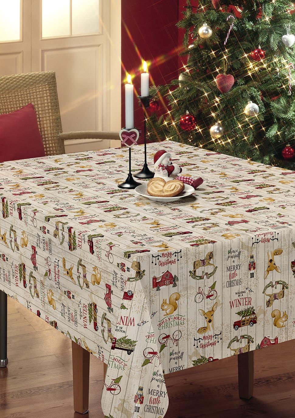 Christmas Tablecloth 2020